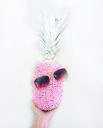 Painted a pink pineapple because why not??